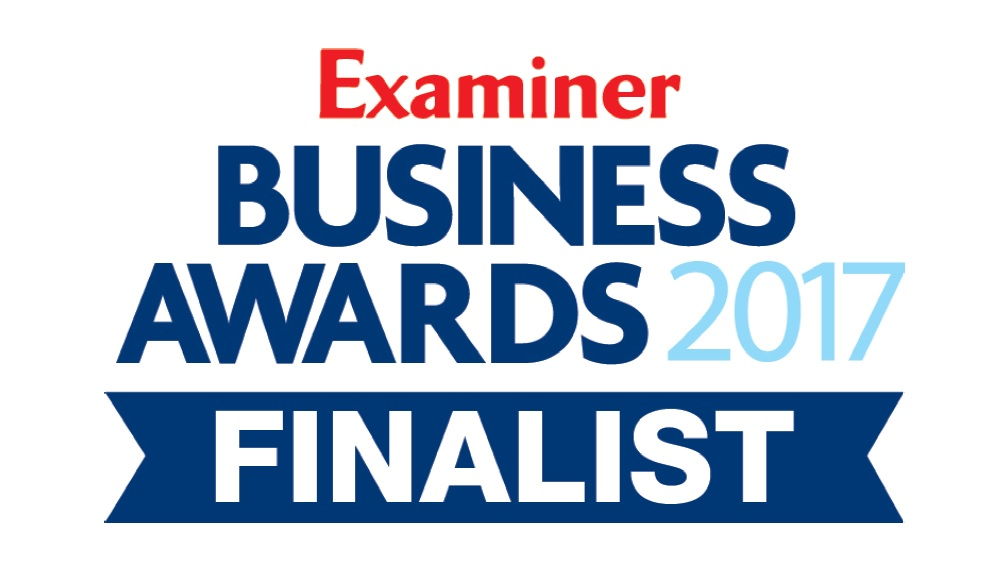Examiner Business Awards Finalist Logo