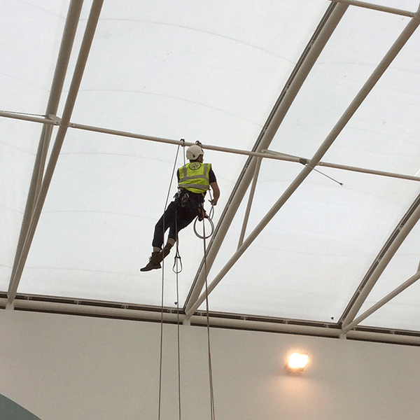 Access North Structures - ETFE Abseil