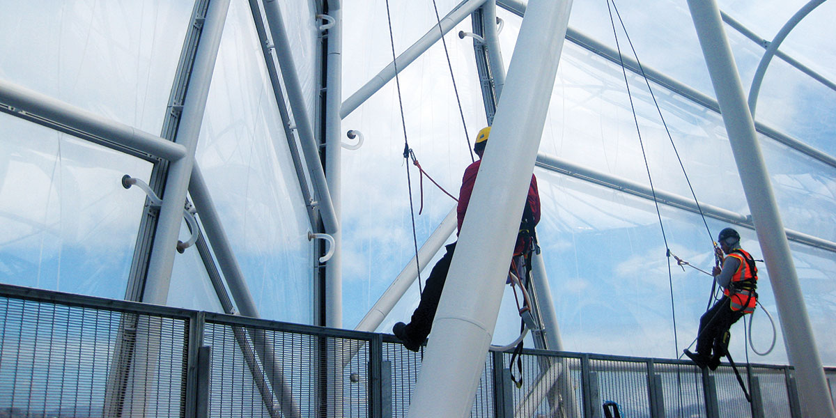 ETFE - Abseiling Techs | Access North Structures (Image)
