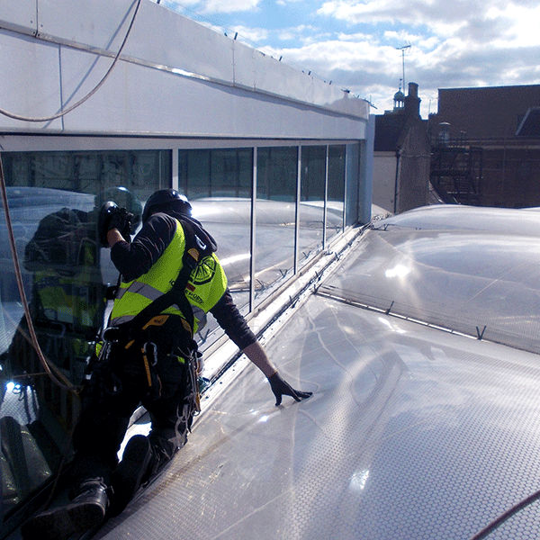 Access North Structures - ETFE Maintenance