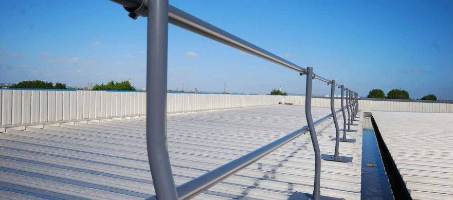 Access North Structures - Fall Protection Edge Guard