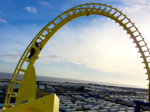 Fantasy Island Rollercoaster - Access North Structures