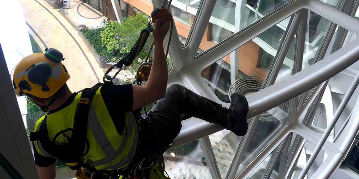 Lowering the hazards of working at height image