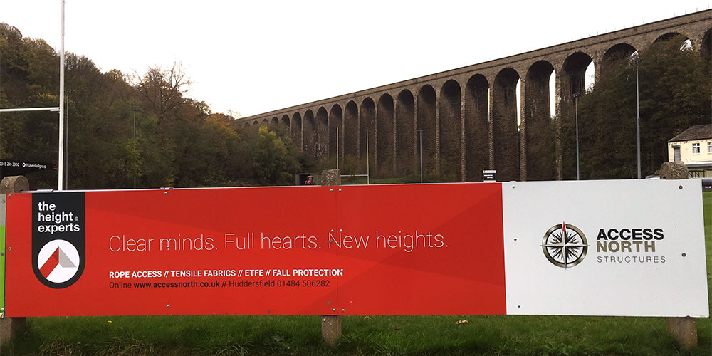 Huddersfield Height Experts provide lift to local rugby club Image